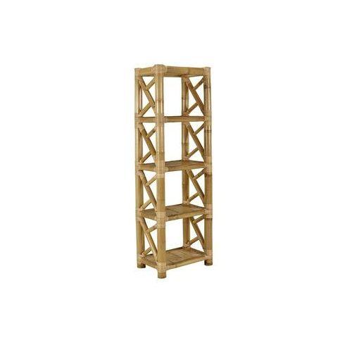 Vente-unique Regał dahlia - 4 półki - bambus