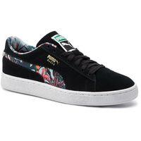 Sneakersy - suede secret garden 369238 01 puma black/puma white, Puma, 40-47