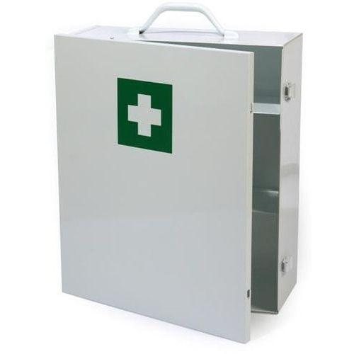 Solidna metalowa szafka apteczka zamykana na klamry - Rabaty - Porady - Hurt - Negocjacja cen - Autoryzowana dystrybucja - Szybka dostawa
