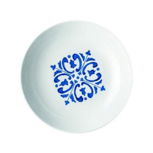 Guzzini - Tiffany - Talerz głęboki Le Maioliche, granatowy - niebieski, 10291276