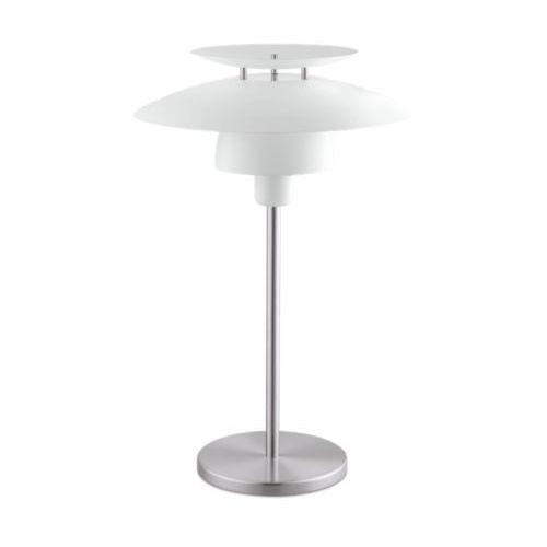 Eglo brenda 98109 lampka stołowa biurkowa 1x60w e27 biała/satyna