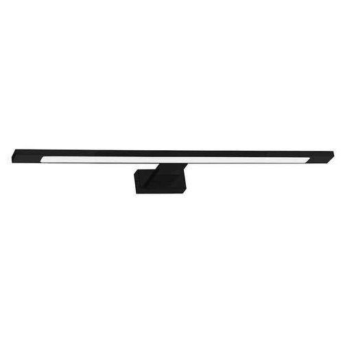 Milagro Shine IP44 ML5570 kinkiet łazienkowy nad lustro 1x12W LED 4000K 840LM czarny mat, kolor czarny