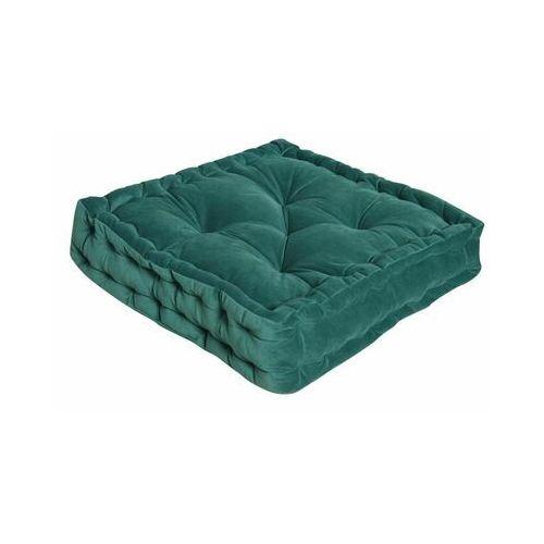 Inspire Poduszka na podłogę loic zielona 40 x 40 x 10 cm (3276007198270)