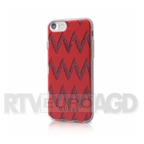do iphone 7 czerwone (bra004632) darmowy odbiór w 20 miastach! marki Guess