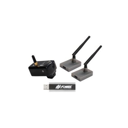 zestaw digital pro x-1 1 transmiter/ 2 odbirniki/ 1 usb transmiter marki Fomei