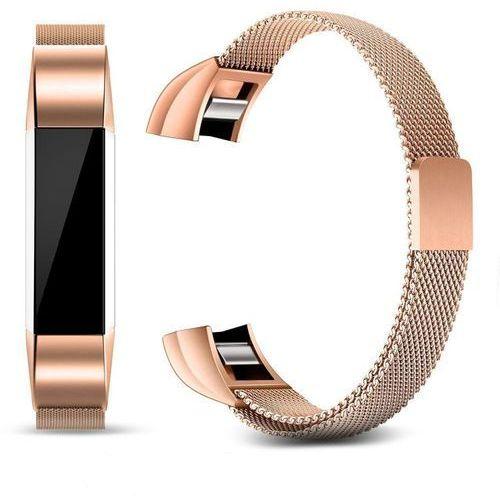 Pasek milaneseband rose gold do fitbit alta marki Tech-protect