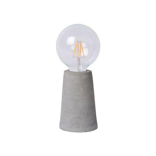 Lucide concrete lampa stołowa led siwy, 1-punktowy - nowoczesny - obszar wewnętrzny - concrete - czas dostawy: od 4-8 dni roboczych