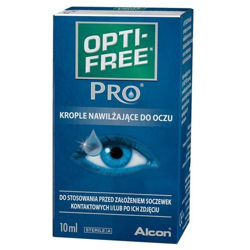 OPTI-FREE PRO krople nawilżające do oczu 10 ml