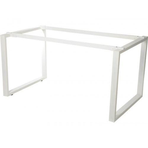 Stelaż ramowy stołu, noga profil 60x30 mm, WT-131, 3 wymiary, kolor biały, WT-131 BIAŁY
