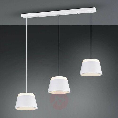 Trio Lampa wisząca leuchten baroness biały, 6-punktowe - dworek/skandynawski - obszar wewnętrzny - baroness - czas dostawy: od 3-6 dni roboczych (4017807425581)