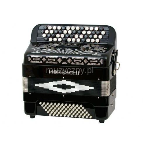 Moreschi 472 C 40(52)/2/3 72/4 akordeon guzikowy (czarny)