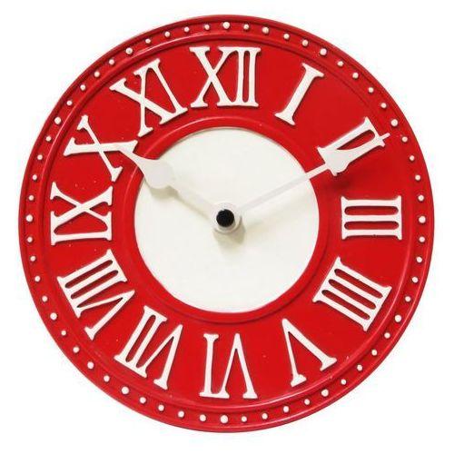 Zegar stołowy london czerwony marki Nextime
