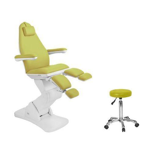 Fotel kosmetyczny elektr. 2244a pedi zielony marki Activ