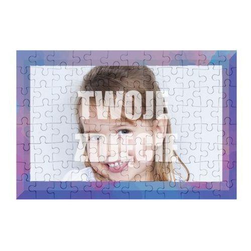 Puzzle Kolorowa ramka + Twoje zdjęcie