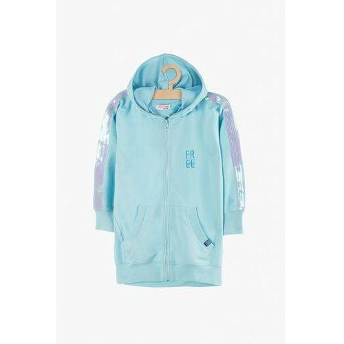Bluza dresowa cienka rozpinana 4f3807 marki Lincoln & sharks by 5.10.15.