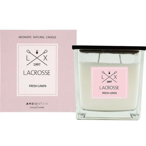 Lacrosse Świeca zapachowa fresh linen 10x10 - fresh linen (8435474414862)