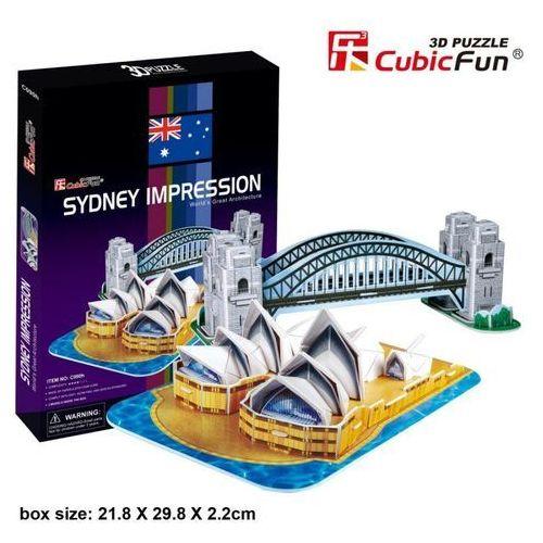 Puzzle 3d sydney impression- marki Cubic fun