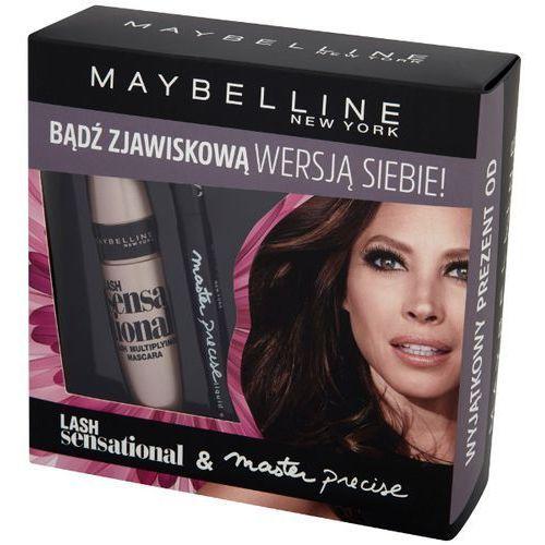 MAYBELLINE New York Lash Sensational & Master Precise Zestaw kosmetyków dla kobiet (maskara + liner) | DARMOWA DOSTAWA OD 150 ZŁ!