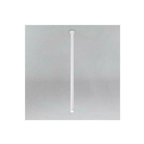 Wpuszczana LAMPA sufitowa ALHA T 9000/G9/1300/BI Shilo minimalistyczna OPRAWA metalowa do zabudowy sopel tuba biała, 9000/G9/1300/BI