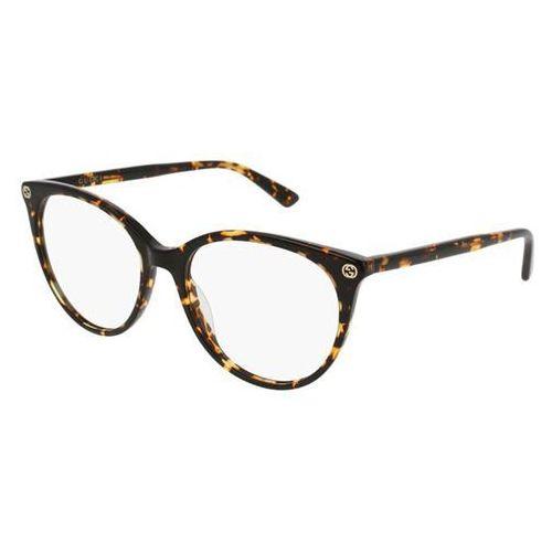 Gucci Okulary korekcyjne gg0093o 002