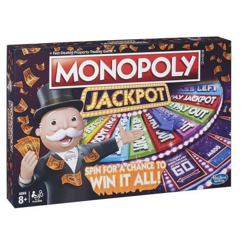 Hasbro Gra monopoly jackpot