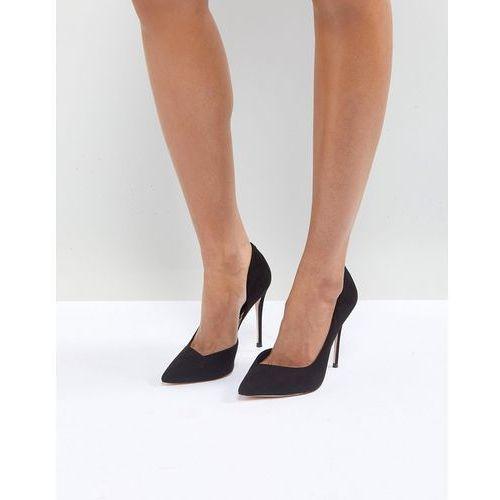 Miss kg alexandra d'orsay court shoes - black