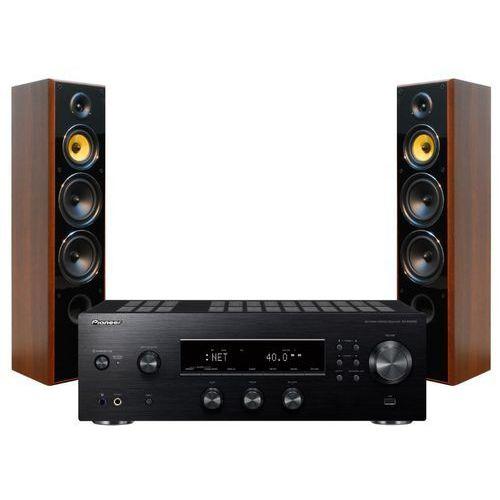 Zestaw stereo PIONEER SX-N30AEB + TAGA TAV-606F Orzech (2900648917617)