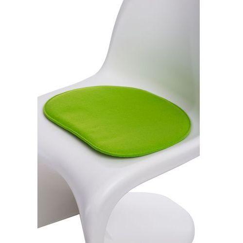 D2.design Poduszka na krzesło balance zielona jas. modern house bogata chata