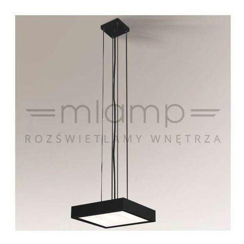 LAMPA wisząca NOMI 5540/2G11/CZ Shilo kwadratowa OPRAWA minimalistyczna zwis czarny (1000000346657)
