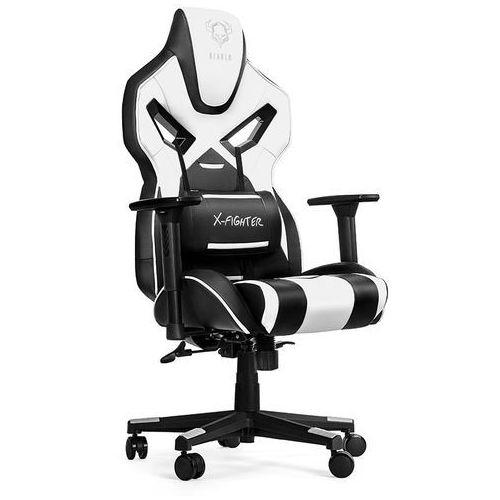 Fotel x-fighter czarno-biały + darmowy transport! marki Diablo chairs
