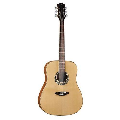 muse dreadnought natural - gitara akustyczna marki Luna