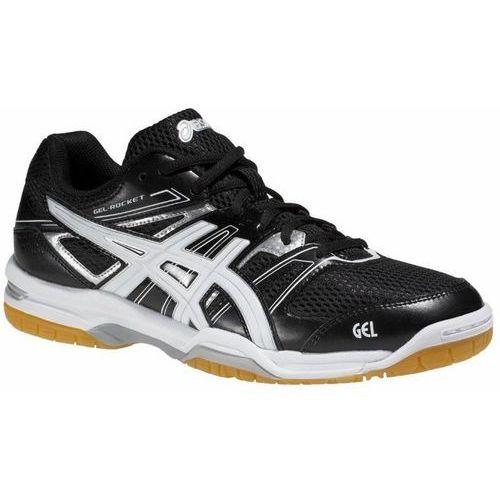 Męskie buty halowe  gel-rocket 7 czarne 46,5 marki Asics