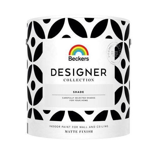 Farba wewnętrzna do ścian designer collection 2,5 l shade marki Beckers