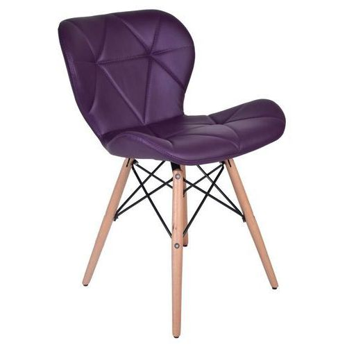 Krzesło muret fioletowe, marki Ehokery.pl