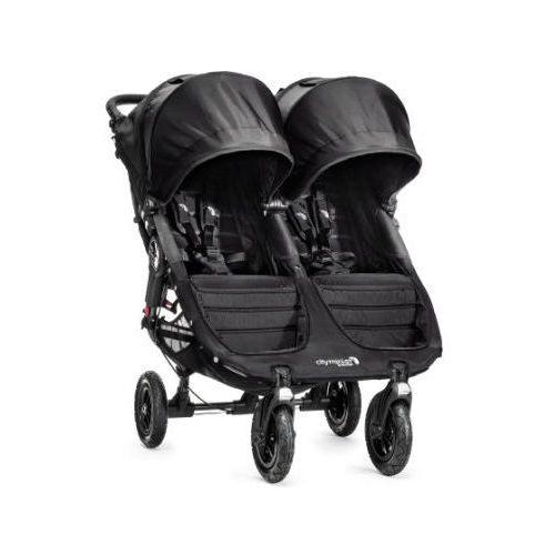 Babyjogger Baby jogger wózek spacerowy podwójny city mini gt double black / black
