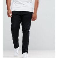 plus skinny jeans in black - black marki Duke