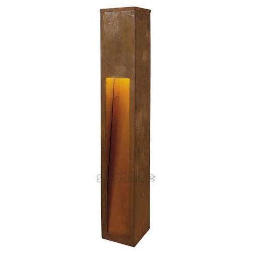Spotline Rusty 80 led slot lampa stojąca, corten, 8.6w cob led, 3000k, ip55, 233457
