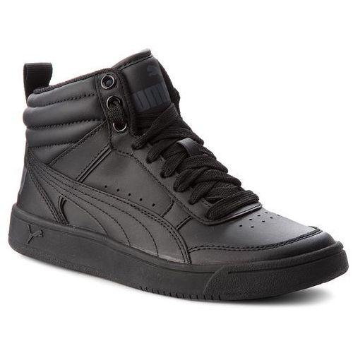 Sneakersy - rebound street v2 l jr 363913 01 puma black/puma black marki Puma