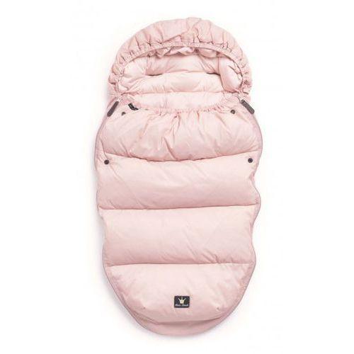 - puchowy śpiworek do wózka, różowy marki Elodie details