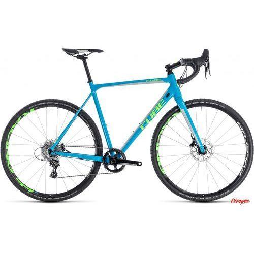 Cube Rower cross race sl blue/green 2018