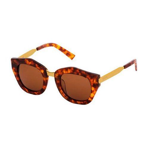 Spektre Okulary słoneczne mon amour ma02a/havana light/gold/gold (tobacco)