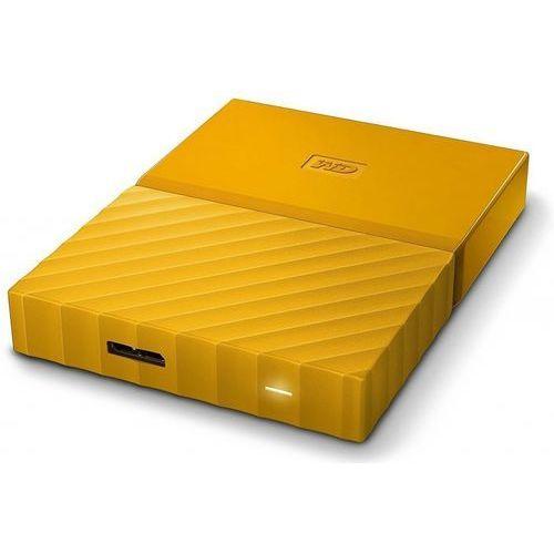 Western Digital HDD My Passport 1 TB 2.5 cala żółty, WDBYNN0010BYL-WESN