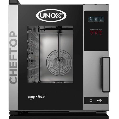 Unox Piec konwekcyjno-parowy elektryczny cheftop 5 gn 2/3 compact one