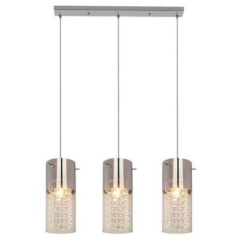 Lampa wisząca LIGHT PRESTIGE Zara LP-5221/3L Srebrny + DARMOWY TRANSPORT!, kolor srebrny,