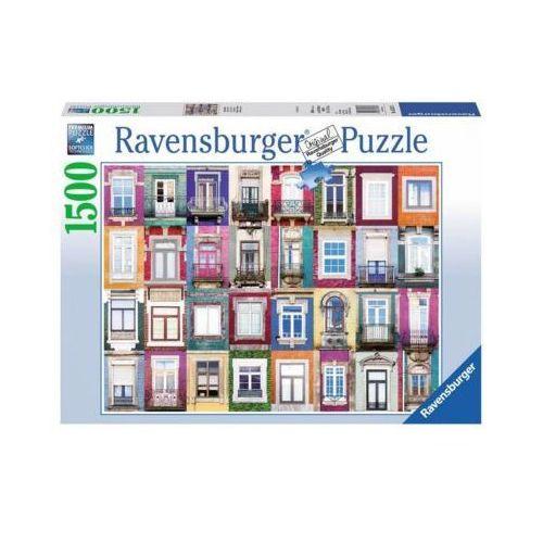 Ravensburger 1500 elementów okna w porto (4005556162178)