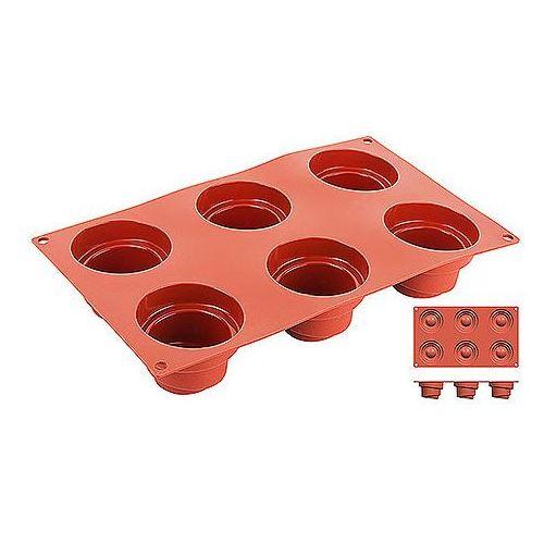Forma silikonowa do pieczenia, foremki o srednicy 68 mm | , 6642/068 marki Contacto