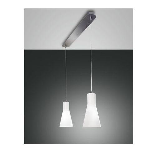 Fabas luce diana lampa wisząca chrom, 2-punktowe - nowoczesny - obszar wewnętrzny - diana - czas dostawy: od 8-12 dni roboczych (8019282017035)