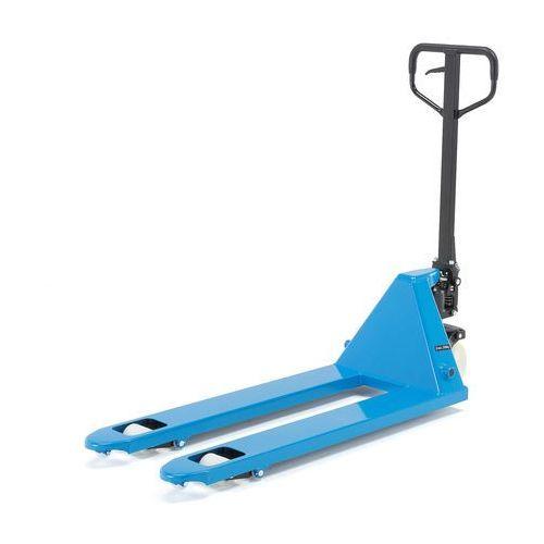 Wózek widłowy (do 2,2t) z pojedynczymi nylonowymi rolkami marki Aj produkty