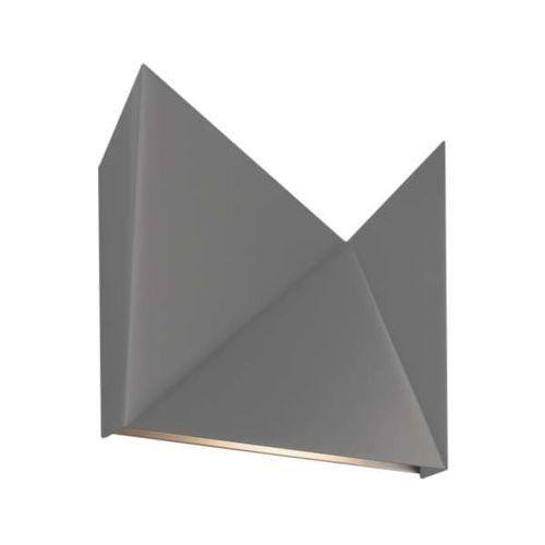Kinkiet LAMPA ścienna AGI 4422/G9/SZ Shilo metalowa OPRAWA minimalistyczna szary, 4422/G9/SZ
