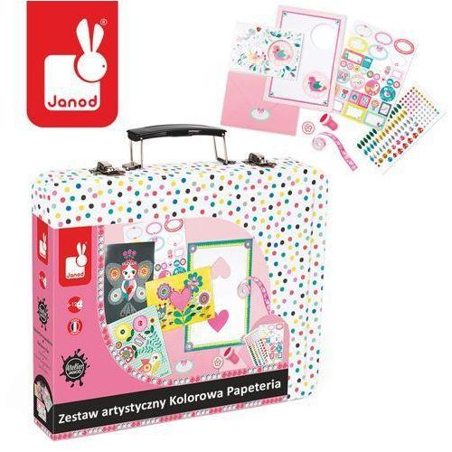 Zestaw artystyczny Kolorowa Papeteria - zabawki dla dzieci